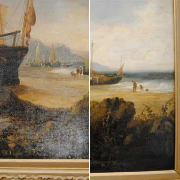 Painting-before-after